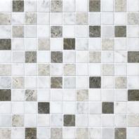 Stone Mosaic Tirso Blend 1x1 Honed Mosaic DA88