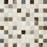Stone Mosaic Taro Blend 1x1 Polished Mosaic DA89