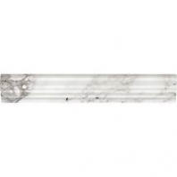 Marble Venetian Calacatta 2x12 Chair Rail Honed M474