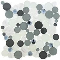 Tile Symphony Bubble Grey Fizz SBS-1512