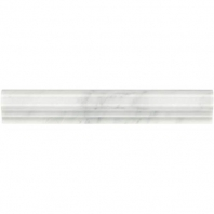 Marble First Snow Elegance Chair Rail Polished M190