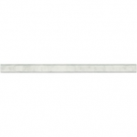 Marble First Snow Elegance Pencil Rail Honed M190