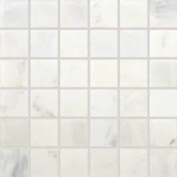 Marble First Snow Elegance 2x2 Tumbled Mosaic M190