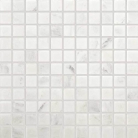 Marble First Snow Elegance 1x1 Tumbled Mosaic M190