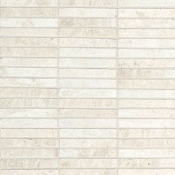 Marble White Cliffs Straight Joint Polished Mosaic M105