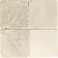 Marble Crema Marfil Classico 4x4 Tumbled M722