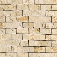 Marble Crema Marfil Classico Split Face Mosaic M722