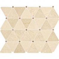 Marble Crema Marfil Classico Triangle Polished Mosaic M722