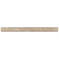 Marble Emperador Light Classic Honed Pencil Rail M712