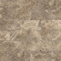 Marble Emperador Light Classic 3x6 Subway Tile Tumbled M712