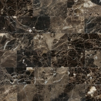 Marble Emperador Dark 3x6 Subway Tile Polished M725