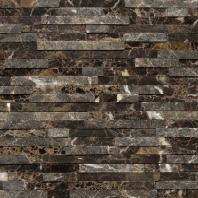 Marble Emperador Dark 3/8 x Random Mosaic M725