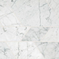 Marble Carrara White Modern Polished Mosaic M701