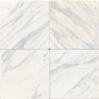 Marble Contempo White 4x4 Tumbled M313