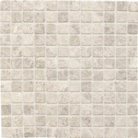 Limestone Arctic Gray 1x1 Mosaic Honed L757