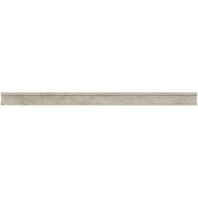 Limestone Volcanic Gray 3/4x12 Pencil Rail Polished L725