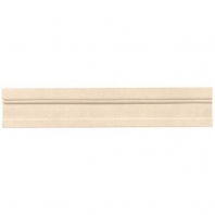 Limestone Adour Creme 2 1/4x12 Modern Chair Rail Honed L341