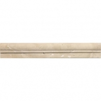 Travertine Torreon 2 1/4x12 Chair Rail Honed T711