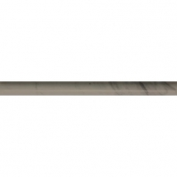 Marble Silver Screen Polished Pencil Rail M744