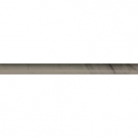 Marble Silver Screen Honed Pencil Rail M744