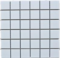 White Square 2x2 Porcelain Mosaic Tile Matte JBTPM8