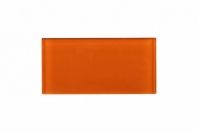 Fire Orange Glass 3x6 Subway Tile JCSA11