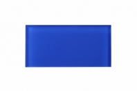 Electric Blue Glass 3x6 Subway Tile JCSA12