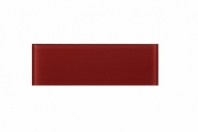 Ruby Red Glass 4x12 Subway Tile JCSB8