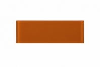 Fire Orange Glass 4x12 Subway Tile JCSB11