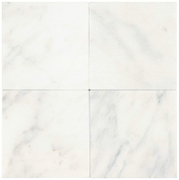 Marble First Snow Elegance 6x6 Tumbled M190
