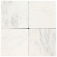 Marble First Snow Elegance 4x4 Tumbled M190