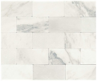Marble First Snow Elegance 3x6 Tumbled M190
