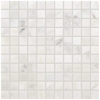 Marble First Snow Elegance 1x1 Honed Mosaic M190