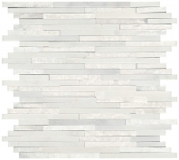 Marble First Snow Elegance Split Face Mosaic M190