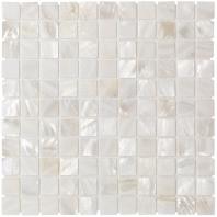 Mother Of Pearl Oyster White Tile PRLSQWTFLT