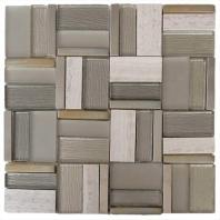Cross Stitch Tweed Mosaic Tile AM-CS-TW