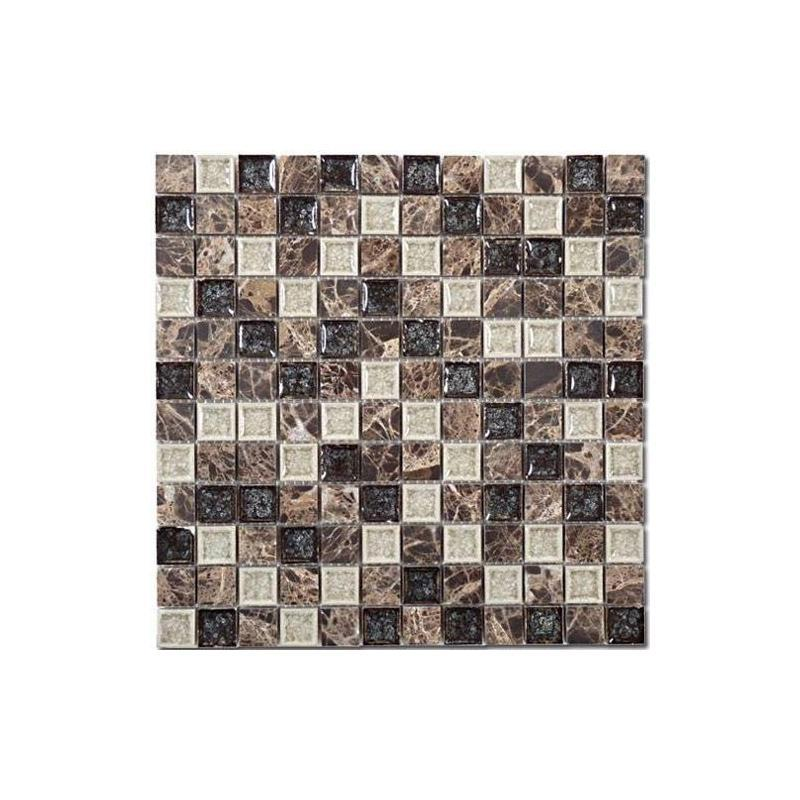 Buy Glass Tile Tranquil Chocolate Blend TS-909