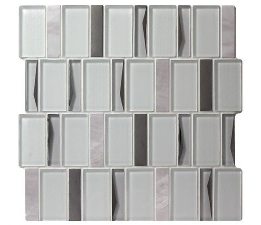 Flicker Anodized Mosaic Tile AM-FL-AD