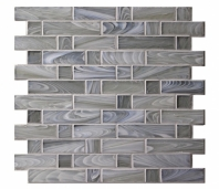 Homespun Polwarth Flannel Glass Mosaic Tile AM-HS-F-PL