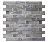 Homespun Polwarth Flannel Glass Mosaic Tile AM-HS-F-PL