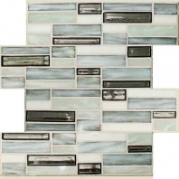 Jazz Fusion Zinc Bar Glass Mosaic Tile AM-JF-ZB