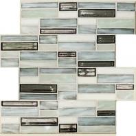 Jazz Fusion Zinc Bar Glass Mosaic Tile AM-JF-ZB