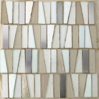 Lighthouse Key West Handmade Glass Mosaic Tile AM-LH-KW