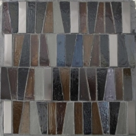 Lighthouse Montauk Point Handmade Glass Mosaic Tile AM-LH-MP