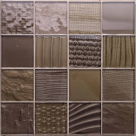 Montage Negative 3 x 3 Glass Mosaic Tile AM-MT-NG
