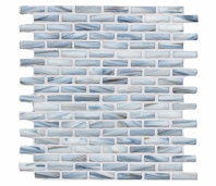 Wet Bar Curacao 1/2 x 2 Glass Mosaic Tile AM-WB-CU