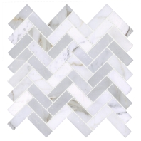 Soci Long Calacutta Herringbone Tile SSH-252