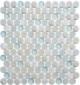 Dawn Celebration CRM475 Crushed Penny Round Mosaic Tile
