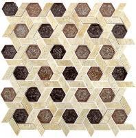 Glazzio Tranquil Hexagon Series Jerusalem Garden TS952