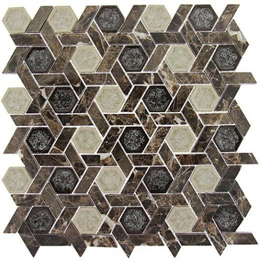 Tile Tranquil Hexagon Capitol Archive TS953